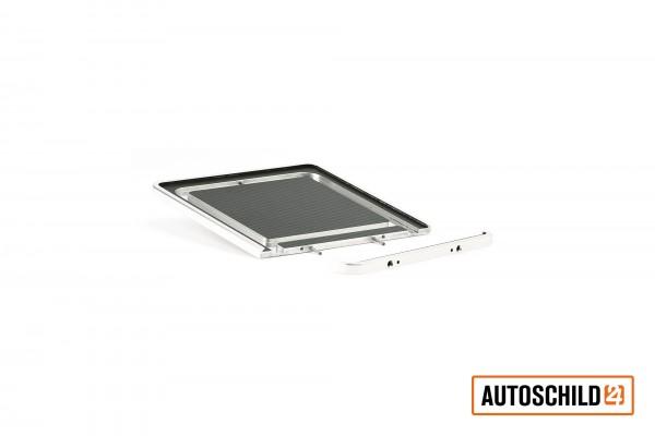 Kennzeichenhalter Aluminium, hochglanz-poliert